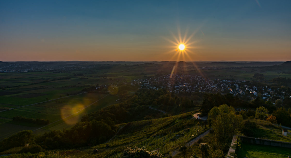 Fotografie Tutorial Sonnenstrahlen