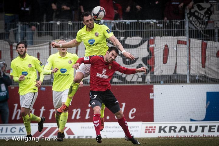 SG Sonnenhof Grossaspach vs. SV Wehen Wiesbaden, Fussball, 3.Liga, GER, 10.03.2018