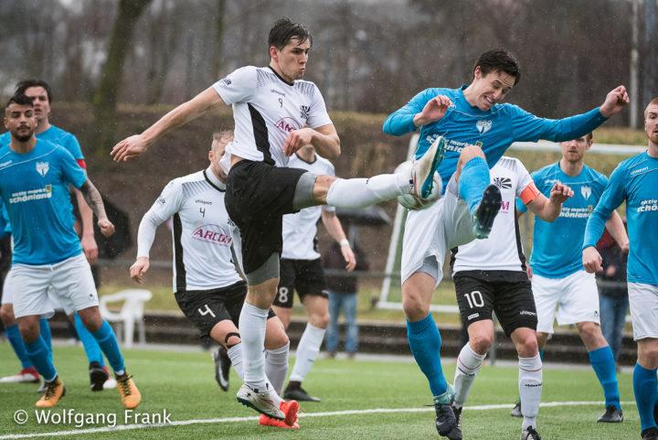 SGV Freiberg Fussball vs. FC 08 Villingen, Fussball, OLBW, GER, 10.03.2018