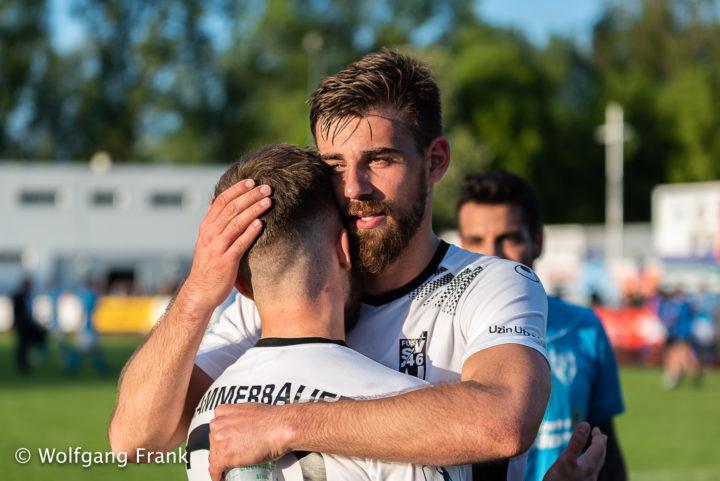 SGV Freiberg Fussball vs. SSV Ulm 1846, Fussball, Oberliga BW , Regionalliga, WFV-Pokal, Landespokal, Halbfinale, GER, 25.04.2018