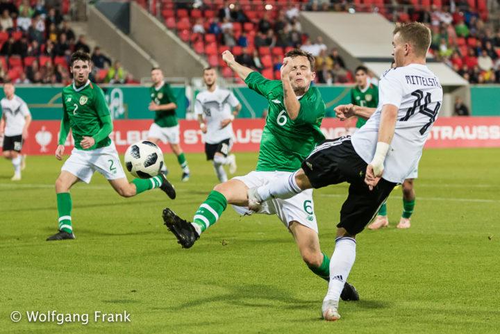 Deutschland vs. Republik Irland, Fussball, U21-EM-Qualifikation 2019, Maenner, 16.10.2018