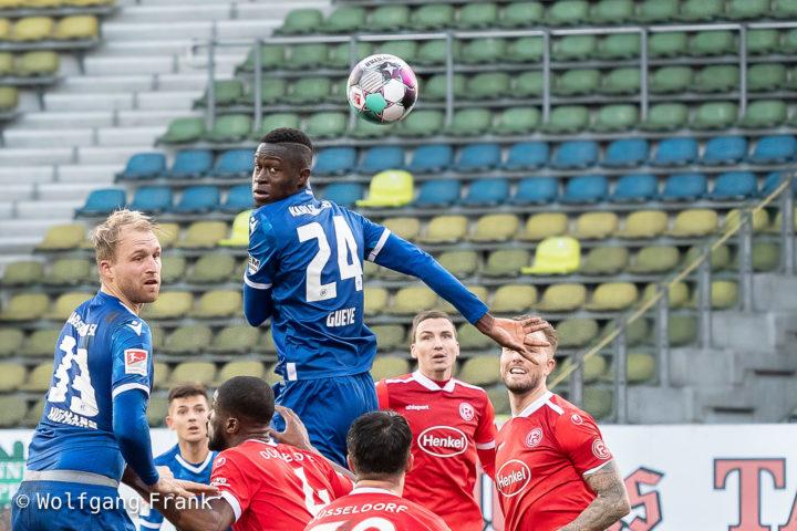 Karlsruher SC vs. Fortuna Duesseldorf, Fussball, Herren, 2.Bundesliga, 11. Spieltag, Saison 20/21, GER, 13.12.2020